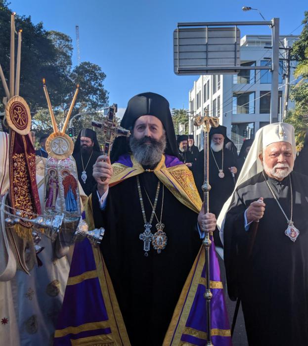 Με λαμπρότητα η ενθρόνιση του Αρχιεπισκόπου Αυστραλίας κ. Μακαρίου - Rythmos - Greek Digital Radio